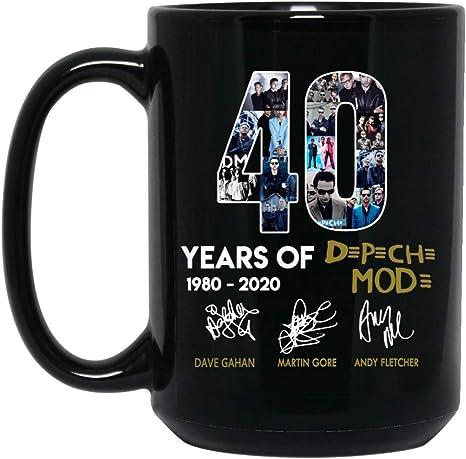 Amazon.com: Copa DOPHILSTORE 40 Años de Depeche Modo Taza 15 ...