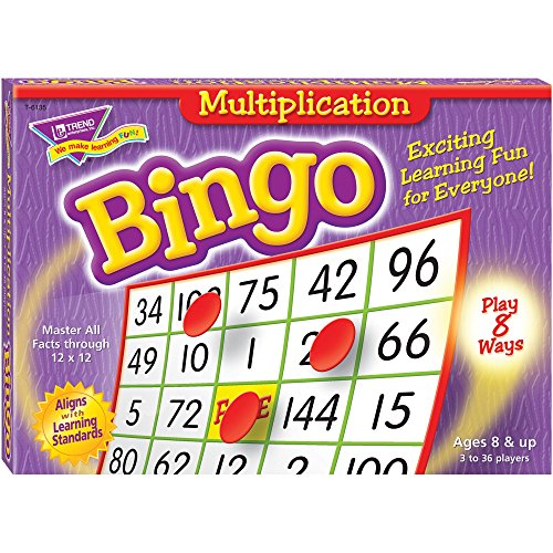 Trend Enterprises Products - Multiplication Bingo, 5