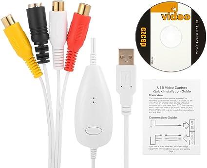 Ezcap USB 2.0 video Capture Converter,VHS,V8,Hi8,Camcorder to PC for MAC Windows