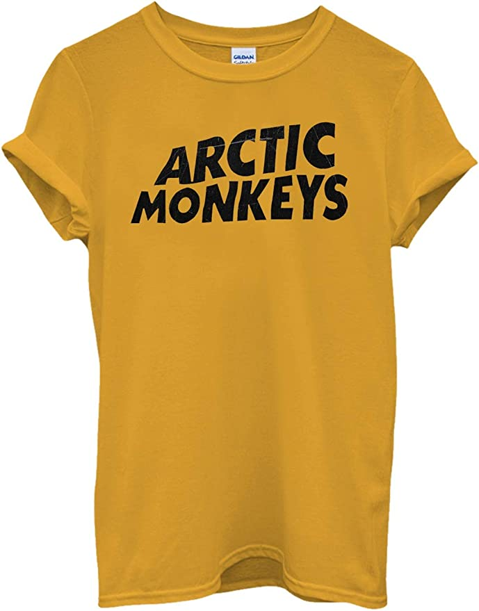 Nueva Camiseta Arctic Monkeys en Cotone Band Indie Rock, Garage Rock, Revival Post-Punk: Amazon.es: Ropa y accesorios