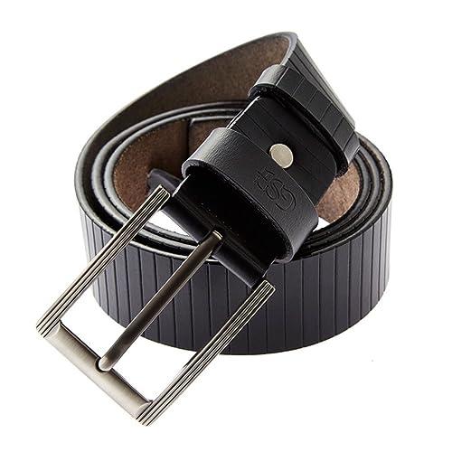 Uomini,Gioventù,Pin Fibbia Cintura Tempo Libero,Business,Cintura Semplice-B 120cm(47inch)