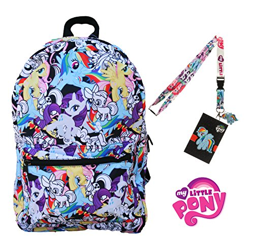 Zecora Costume (My Little Pony Backpack with Lanyard and Keychain Charm (Draw Art)