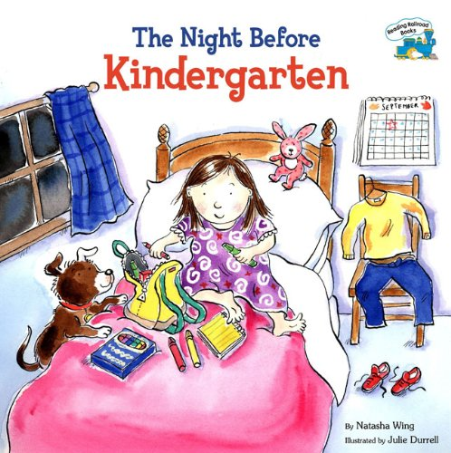 The Night Before Kindergarten (Turtleback School & Library Binding Edition) (Reading Railroad Books)