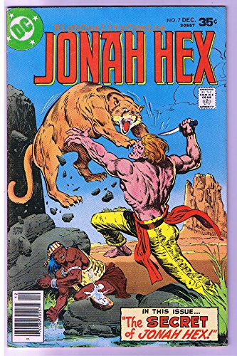 JONAH HEX #7, FN/VF, Scar face, Ernie Chan, Apache,1977, more JH in store ()