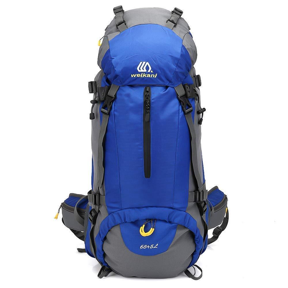 MRXUE Wandereinschlag 70L mit Regenschutz/Wasserschutz Camping Bergsteigerbeutel
