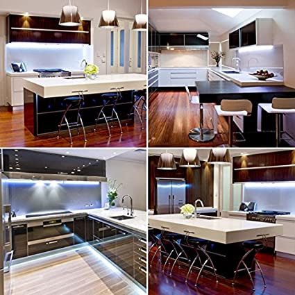 the latest 6281a fe9ed LED Strip Light Set / Kitchen Lighting Package, Cool White ...