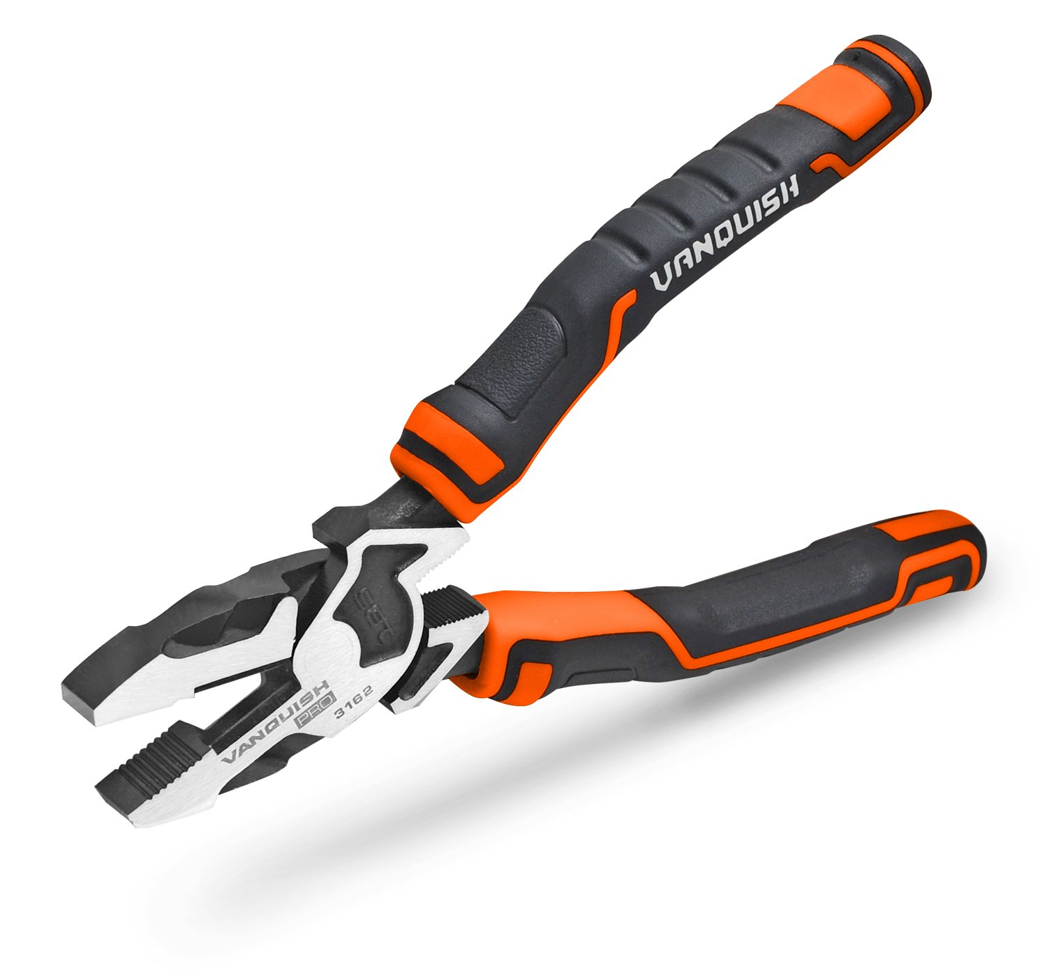 VANQUISH 3162 High-Leverage Linesman Pliers - 7''/ 175mm