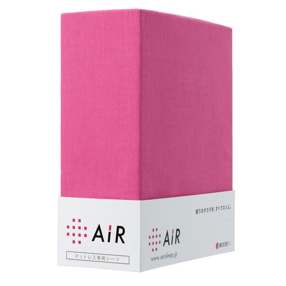 東京西川 ラップシーツ ダブル エアー マットレス専用 アウトラスト使用 ピンク B00F83KZ4U ダブル|ピンク ピンク ダブル