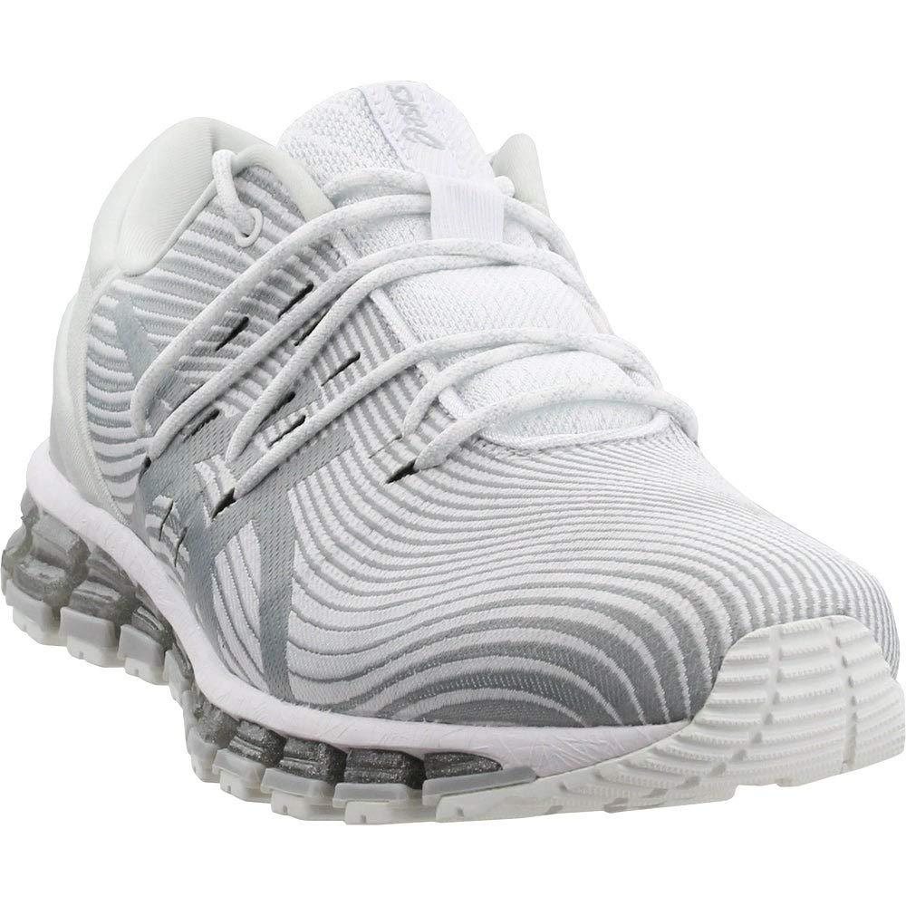 blanc Mid gris gris gris ASICS - Chaussures Femme Gel-Quantum 360 4 a17