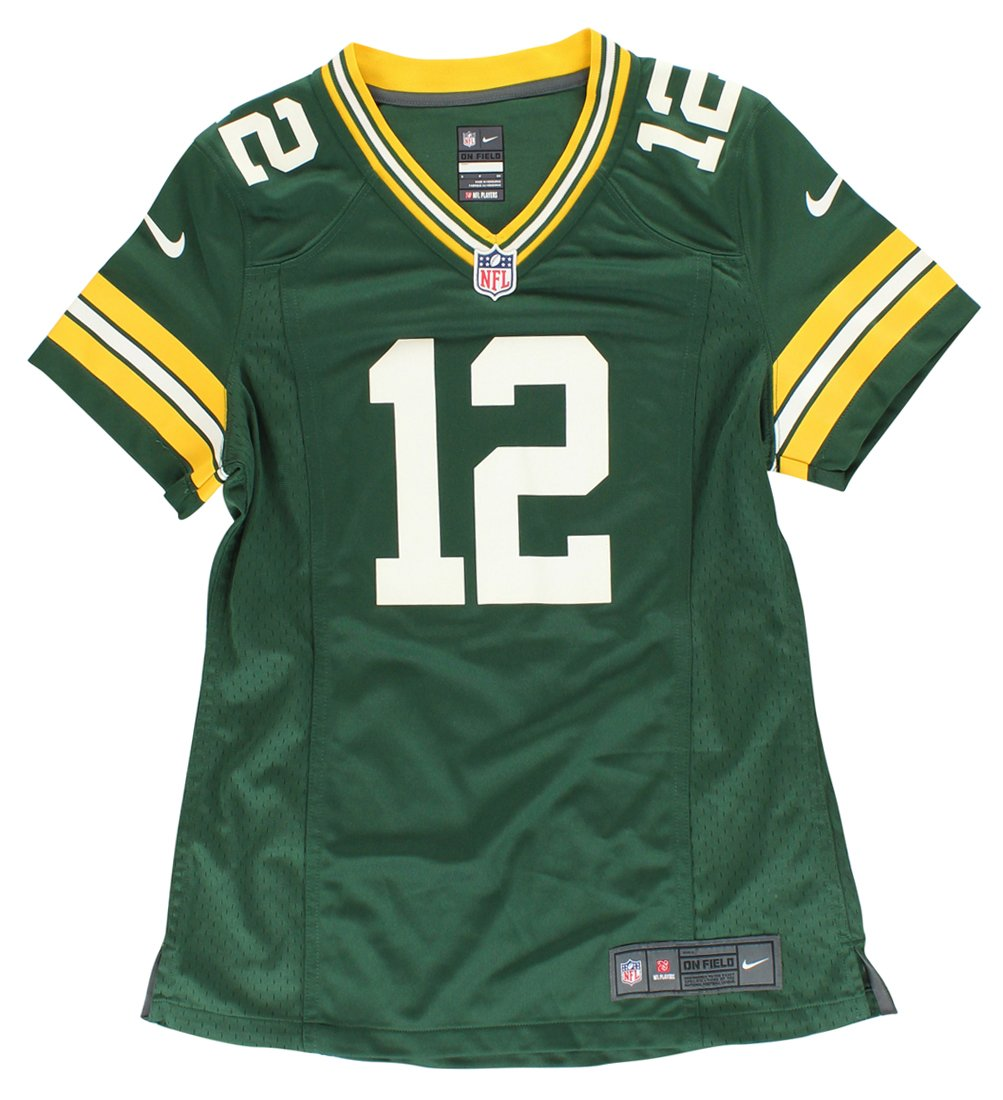 Nike Green Bay Packers NFL Game Team Jersey T-Shirt à Manches Courtes Femme 469900-323