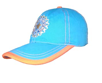 a8058933f5f Image Unavailable. Image not available for. Colour  Amaze Casual Sports  Team India ODI T-20 Cricket Supporter Cap for Mens ...