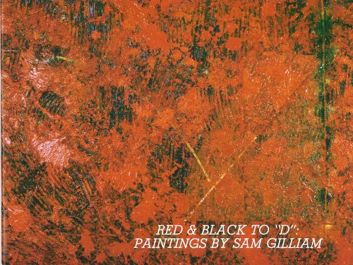 """Books : Red and Black to """"D"""": Paintings by Sam Gilliam"""
