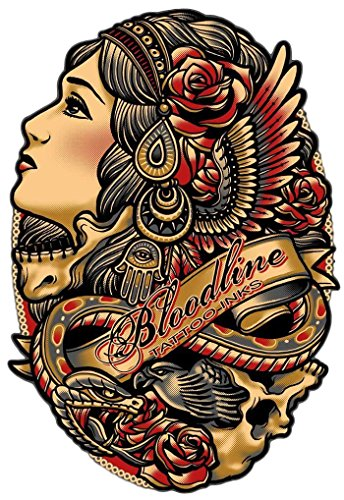 Bloodline Tattoo Ink All Purpose Black 1 ounce (29 milliliter)