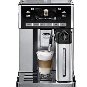 DeLonghi ESAM 6900.M - PrimaDonna Exclusive Bean-to-cup machine - silver b288ab7336e