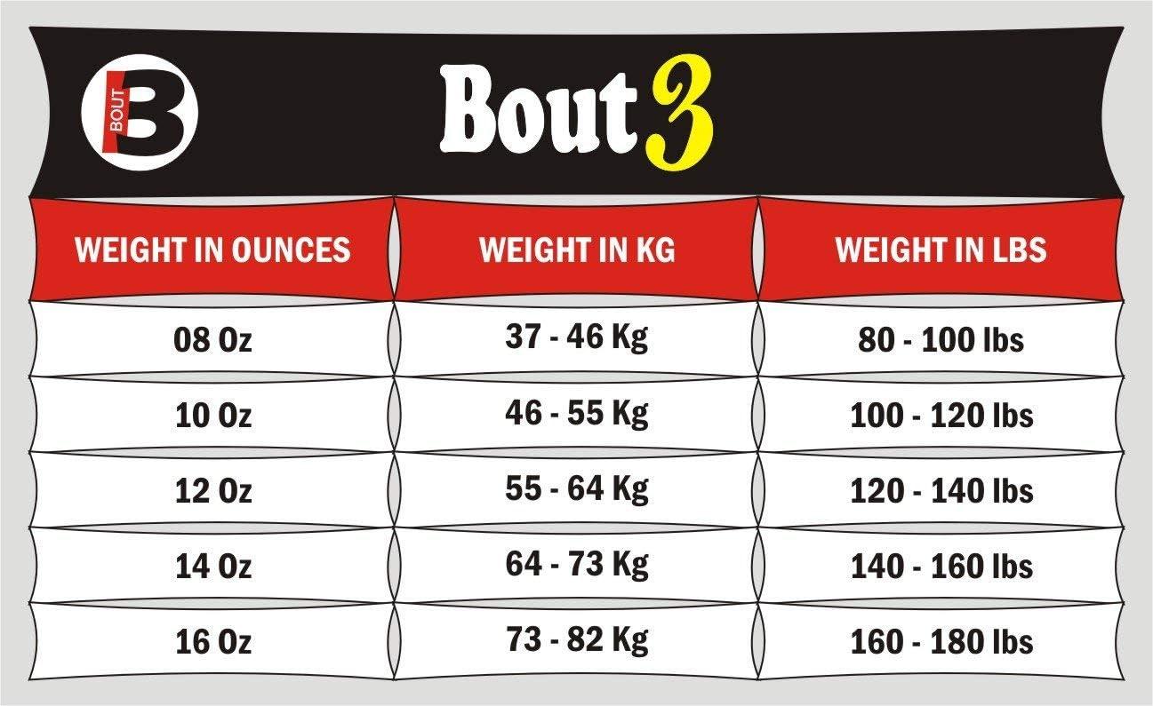 pour gar/çons Filles Hommes et Femmes Bout3/® Gants de Kickboxing pour Muay Thai Sac de Boxe Sac de Boxe Sac de Sable Boxe Sparring Entra/înement Arts Martiaux UFC Punching Coaching Coaching