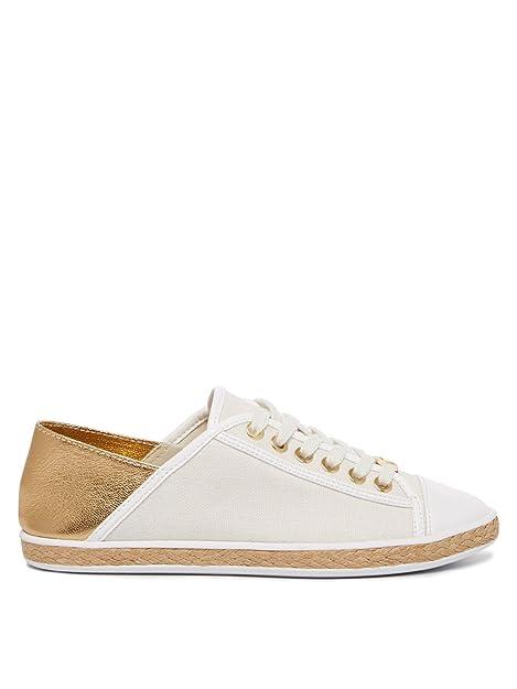 Michael Kors Kristy Slide Mujer Zapatos Blanco: Amazon.es: Zapatos y complementos
