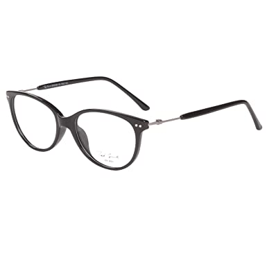 Stylish Black Cat-eye Ted Smith Frames: Amazon.in: Clothing ...