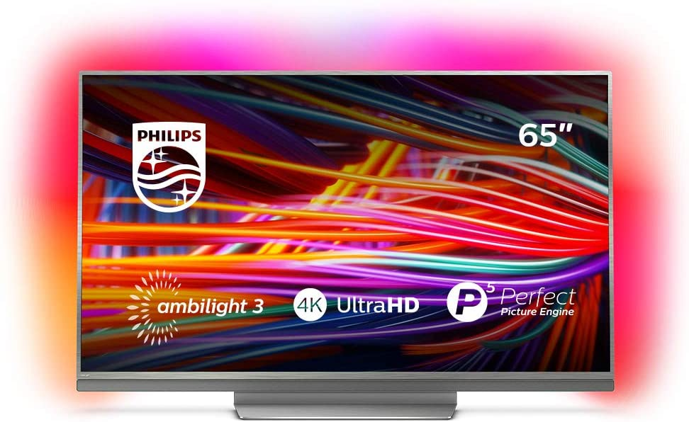 Philips - TV Led 164 Cm (65)  Philips 65Pus8503/12 4K Ultraplano ...