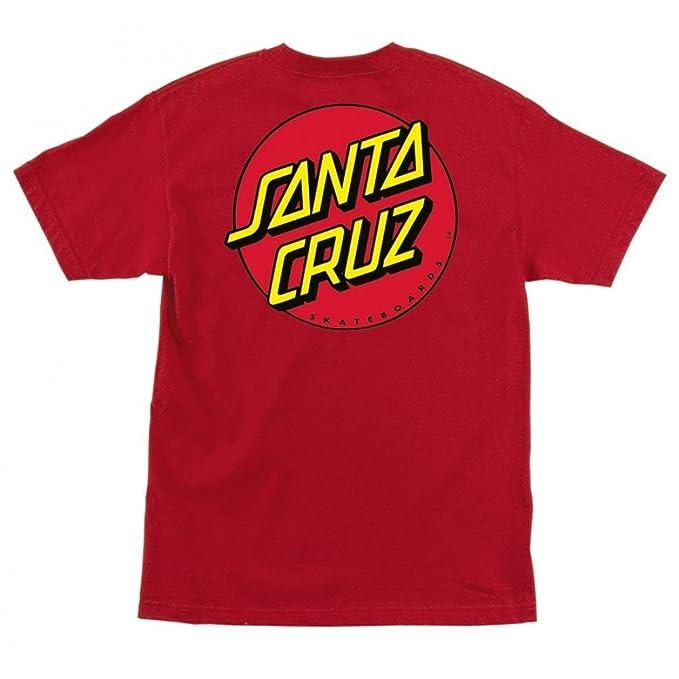 b0326110f Image Unavailable. Image not available for. Color: Santa Cruz Boy's Classic  Dot Regular T-Shirt ...