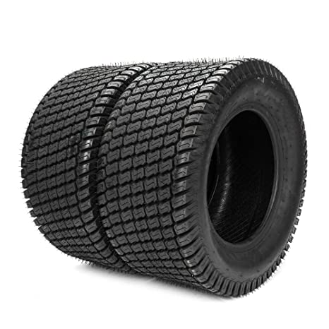 Amazon.com: 2pcs 20x10-8 césped cortacésped Turf neumáticos ...