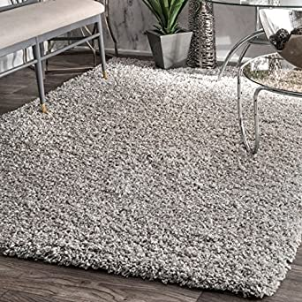 Cozy Soft And Plush Solid Easy Shag Area Rug