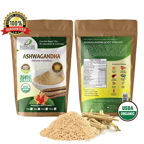 Ashwagandha Root Powder 2oz Boost Running Endurance Energy Now 100% Raw Organic Herbal Supplement Superfood Sexual Vitality Immune System Smoothies & Shakes Vegan & Vegetarian