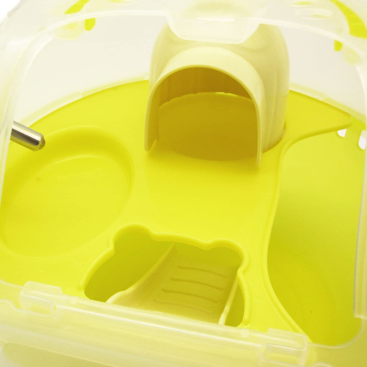 Alfie Pet Travi Travel Carrier Vacation House for Small Animals Like Dwarf Hamster and Mouse