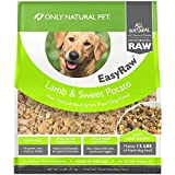 Only Natural Pet EasyRaw Human Grade Dehydrated Raw Dog Food Formula That Contains Real Wholesome Nutrition, Low Glycemic, Non-GMO – Lamb & Sweet Potato Flavor – 2 lb Bag (Makes 12 lbs) For Sale