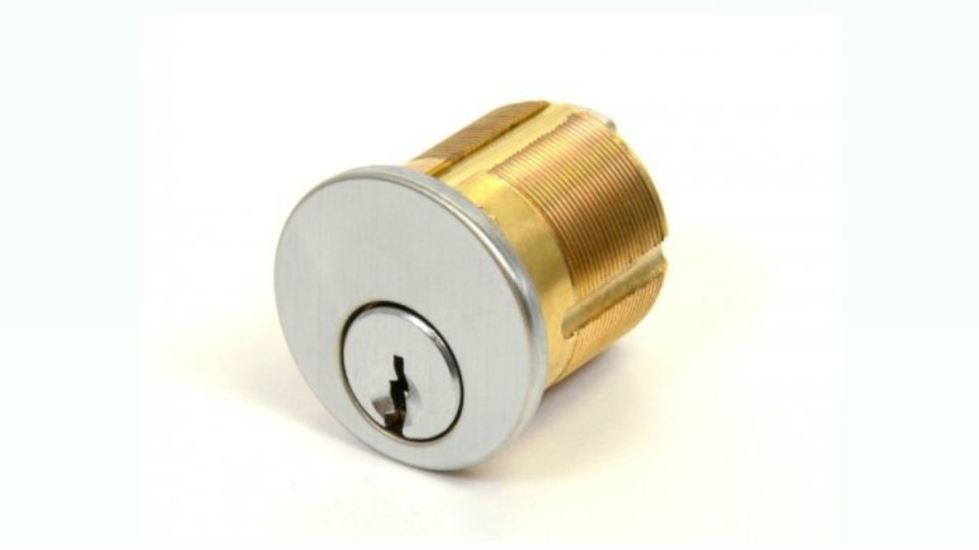 Mortise Keyed Cylinder 1/8'' : High Security Registered Key Lock : Do Not Duplicate Stamped Keys : Keyed Alike
