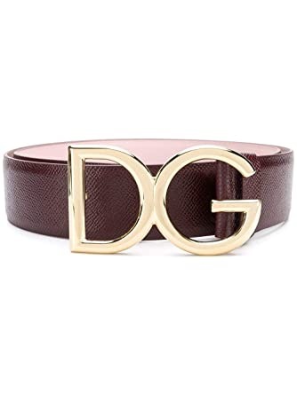 Dolce E Gabbana Femme BE1313AV4958S080 Marron Cuir Ceinture  Amazon ... 25690e60be2