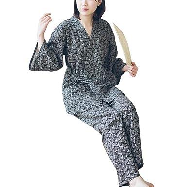 Traje de Pijamas de Traje de Pijamas de Estilo japonés Batas para ...