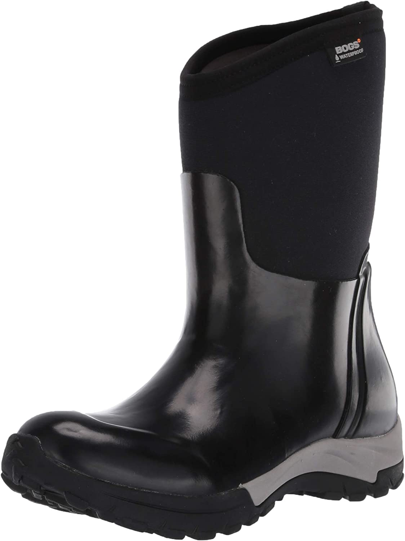 Bogs Women's Daisy Mid Height Waterproof Insulated Garden Rain Boot