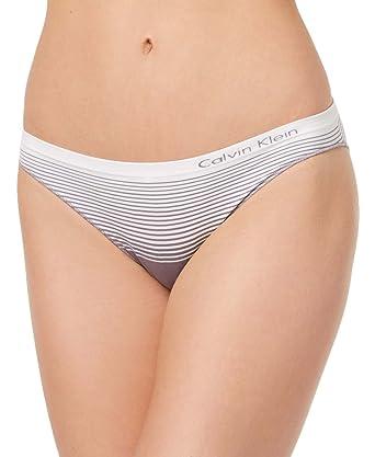 b10776ead1569 Amazon.com  Calvin Klein Seamless Bikini Panty  Clothing