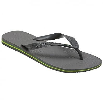 separation shoes cea23 95dee Havaianas Flip Flops Damen/Herren Brasilien, Grau - grau - Größe: 43/44 EU