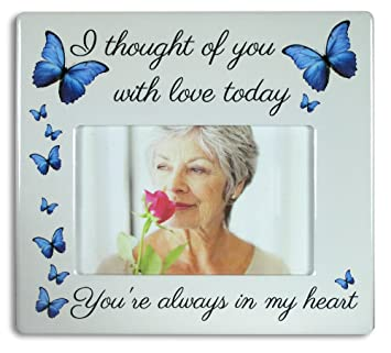 Amazoncom Banberry Designs Memorial Picture Frame I Thought Of