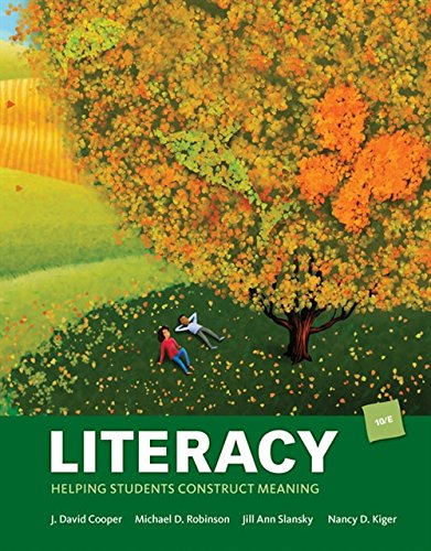 Literacy: Helping Students Construct Meaning (MindTap Course List)