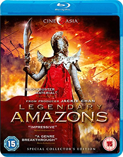 legendary amazons blu ray - 1