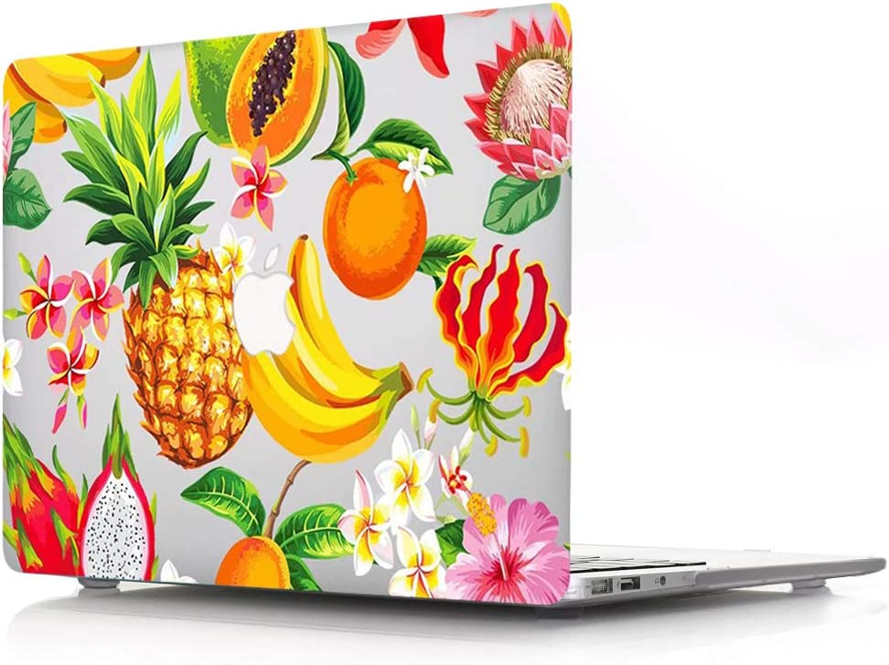 ACJYX Compatible with MacBook Air 13 inch Case Model A1466 & A1369 Older Version 2017 2016 2015 2014 2013 2012 2011 2010, Print Pattern Coated Plastic Protective Hard Shell Case, Various Fruit