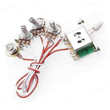 Amazon.com: ROCKET Wiring Harness Prewired 1 Volume 2 Tone Control on