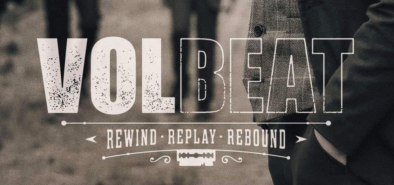 Volbeat Rewind Replay Rebound 2019 Autoaufkleber Sticker Aufkleber Wasserfest Auto