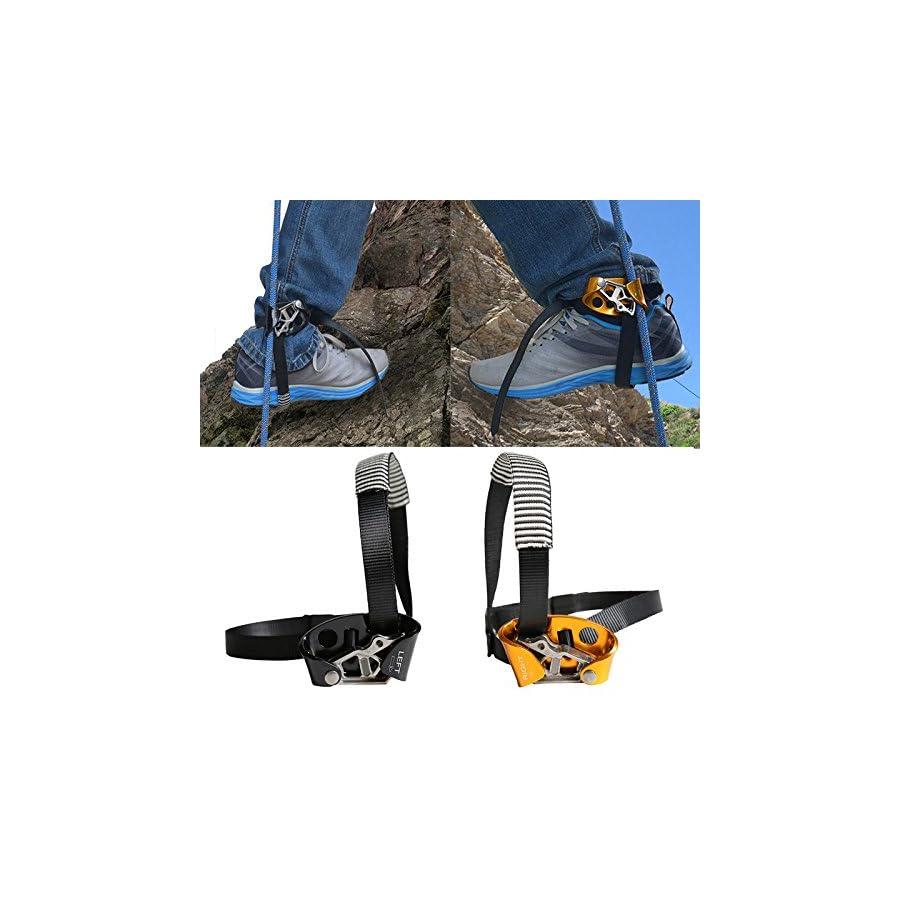 EDTara Outdoor Foot Ascender Riser Ascending Device Rock Climbing Mountaineering Equipment