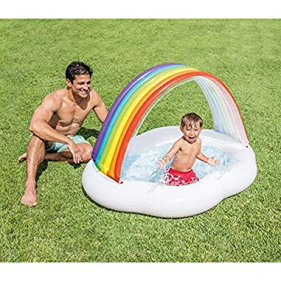 Intex Rainbow Cloud Inflatable Baby Pool, for Ages 1-3: Toys & Games