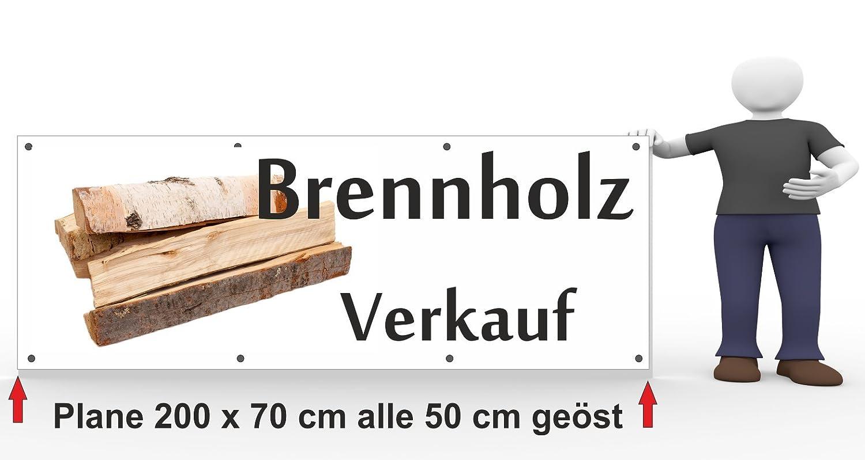 Werbebanner Brennholz Verkauf Amazonde Garten