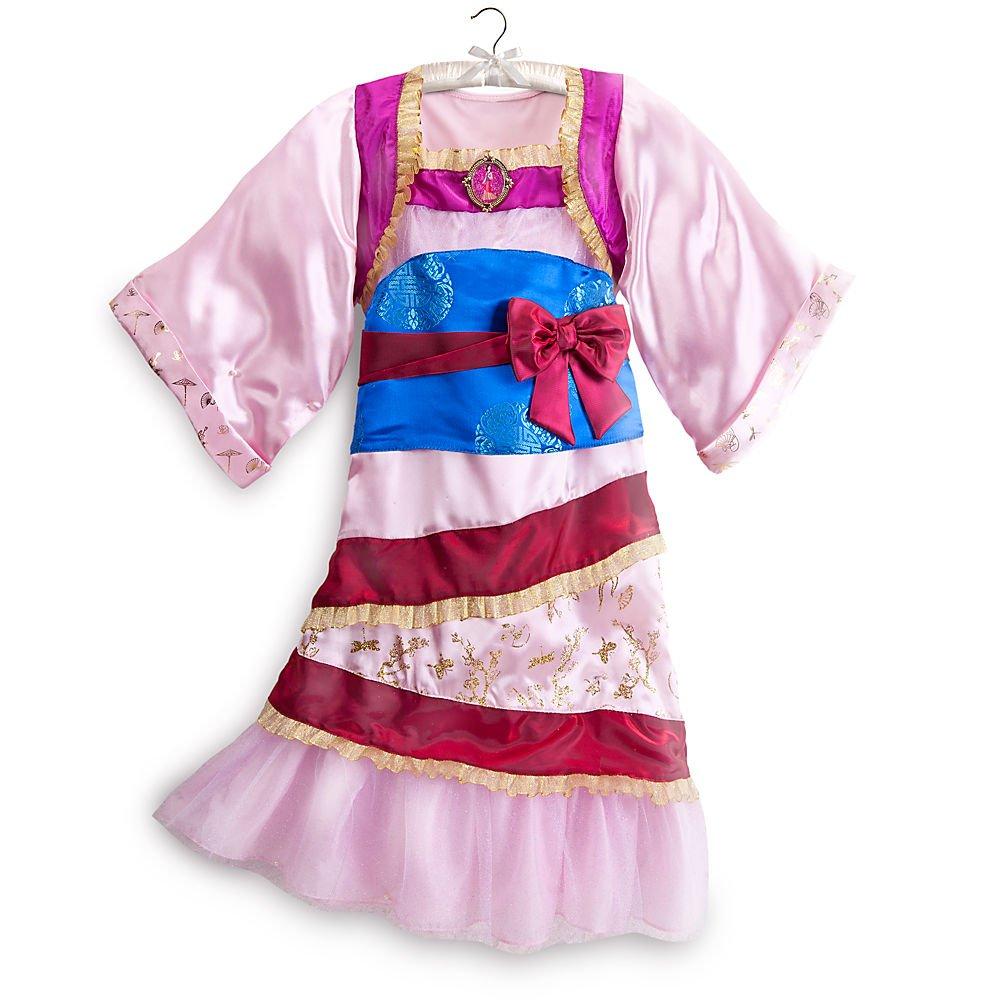 Disney Store Princess Mulan Halloween Costume Kimono Dress Size XS 4 - 4T