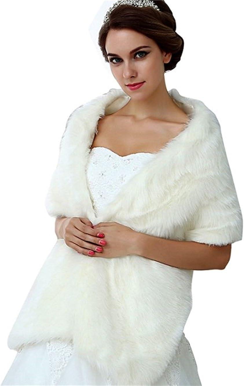 NYARER Women's Faux Fur...