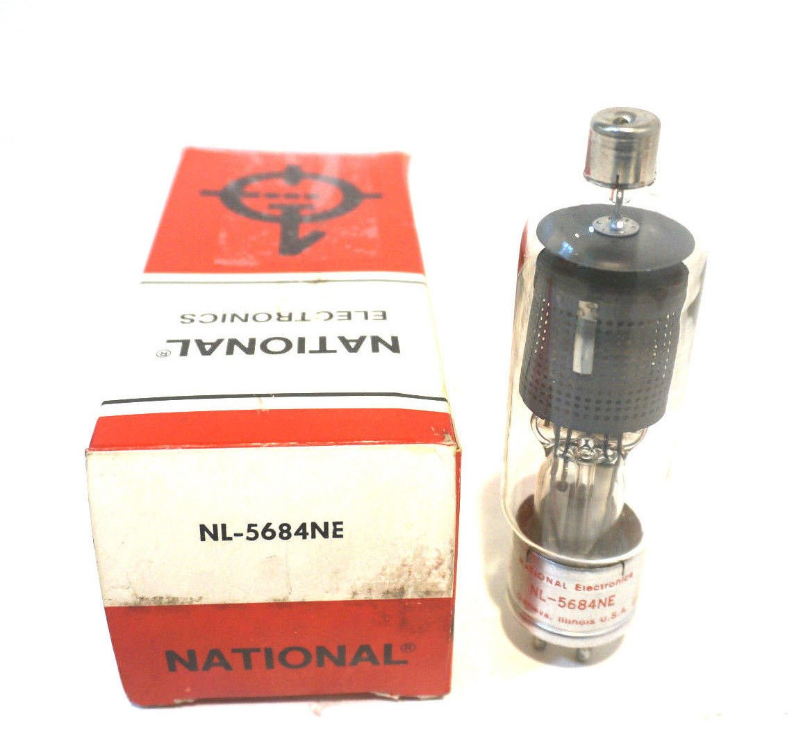 NEW NATIONAL ELECTRONICS NL-5684NE THYRATRON TUBE NL5684NE