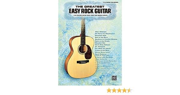 Amazon.com: The Greatest Easy Rock Guitar (0884088697907): Hal ...
