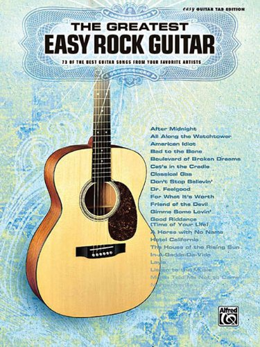 The Greatest Easy Rock Guitar (Old Time Rock And Roll Sheet Music)