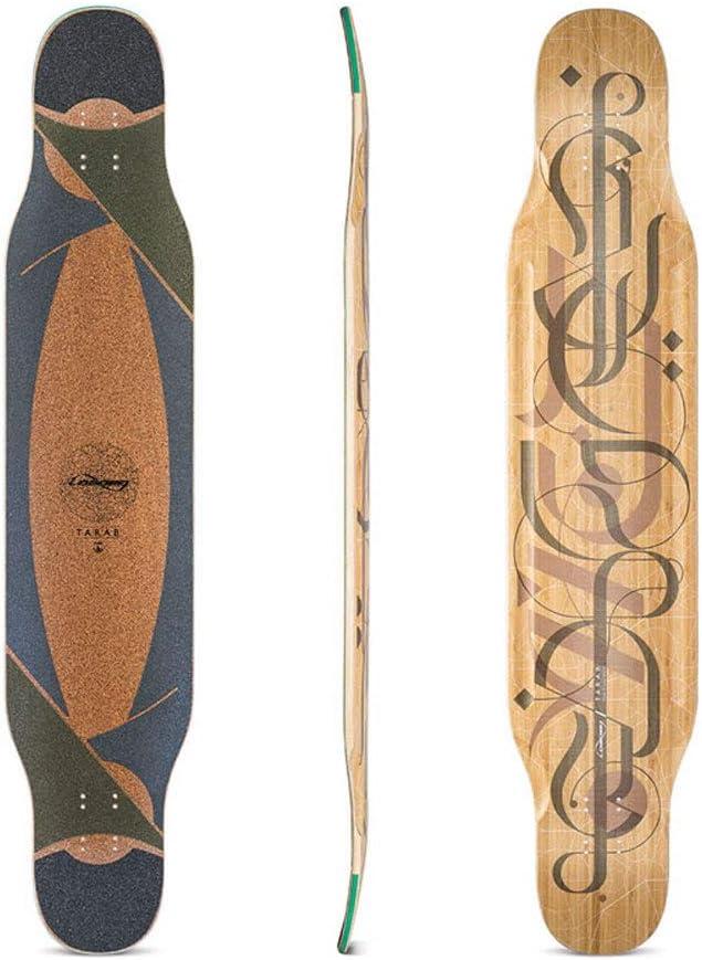 LOADED ローデッド ロングスケートボード タラブ [ TARAB ] DECK (デッキ単品) ダンシングフリースタイル TARAB FLEX1