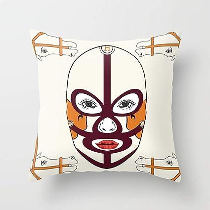 Amazon.com: WUMIARUA 100% Cotton Pillowcase Cushion Cover ...
